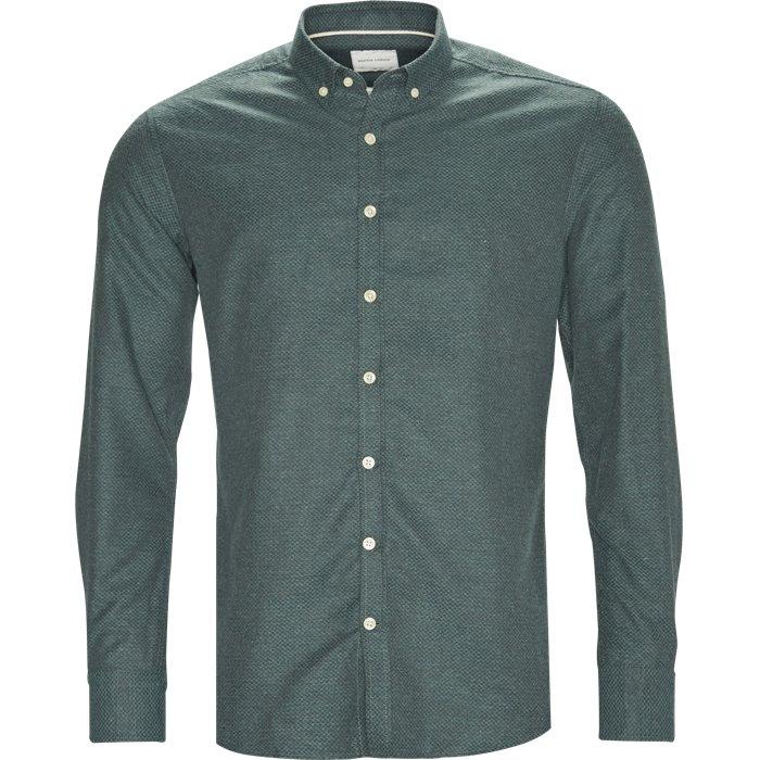 Kim - Skjorter - Regular - Grøn