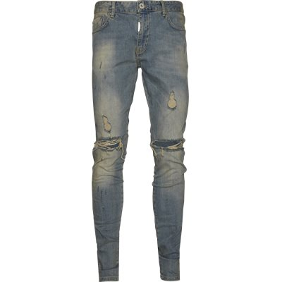 Knee Destroyer Denim Regular | Knee Destroyer Denim | Blå