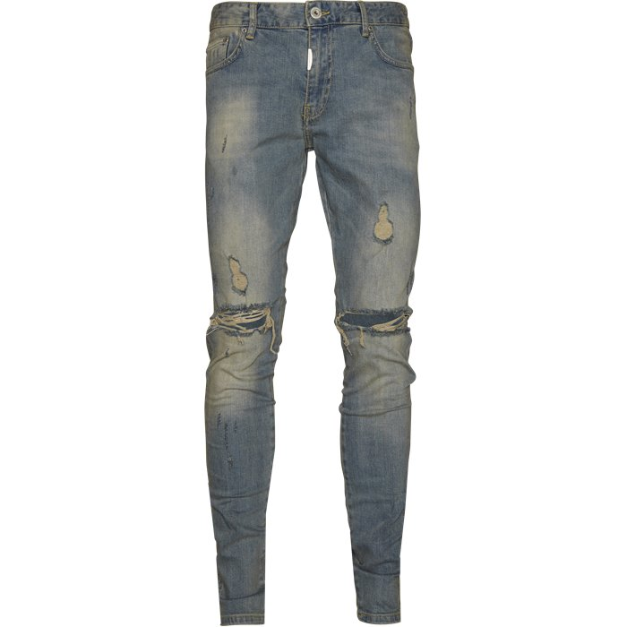 Knee Destroyer Denim - Jeans - Regular - Blå