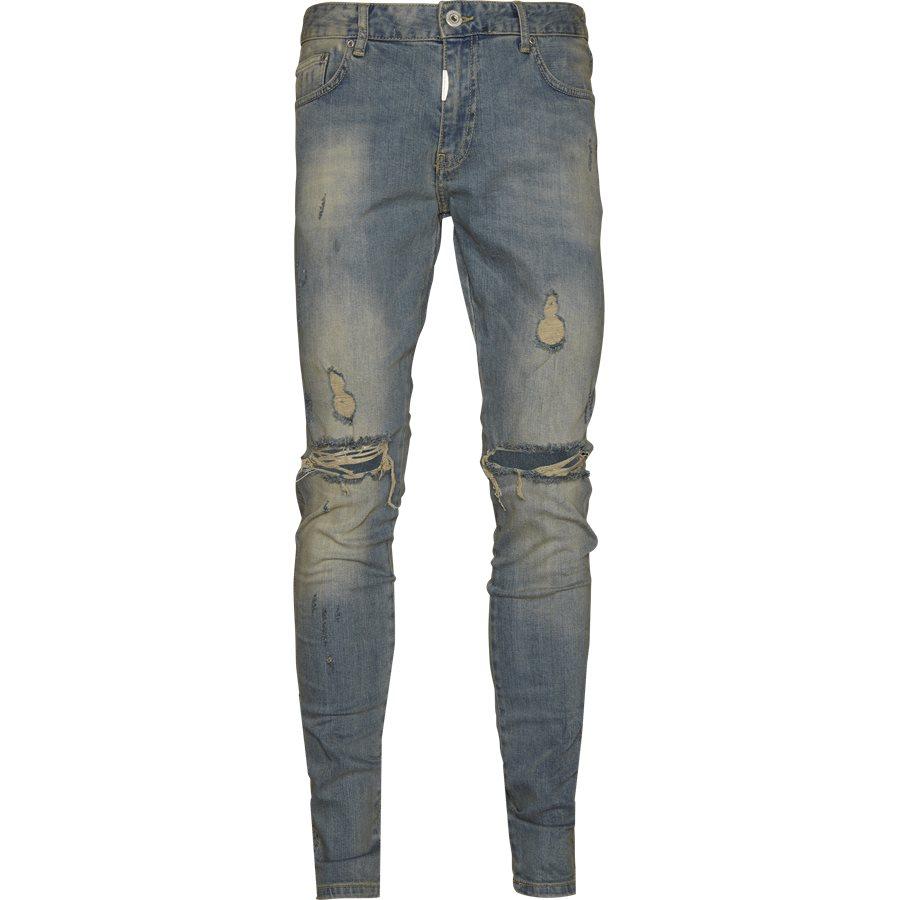 KNEE DESTROYER DENIM - Knee Destroyer Denim - Jeans - Regular - INDIGO - 1