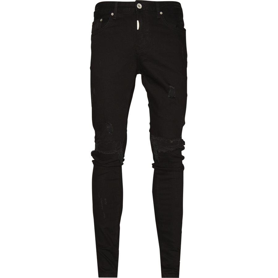 KNEE DESTROYER DENIM - Knee Destroyer Denim - Jeans - Regular - SORT - 1