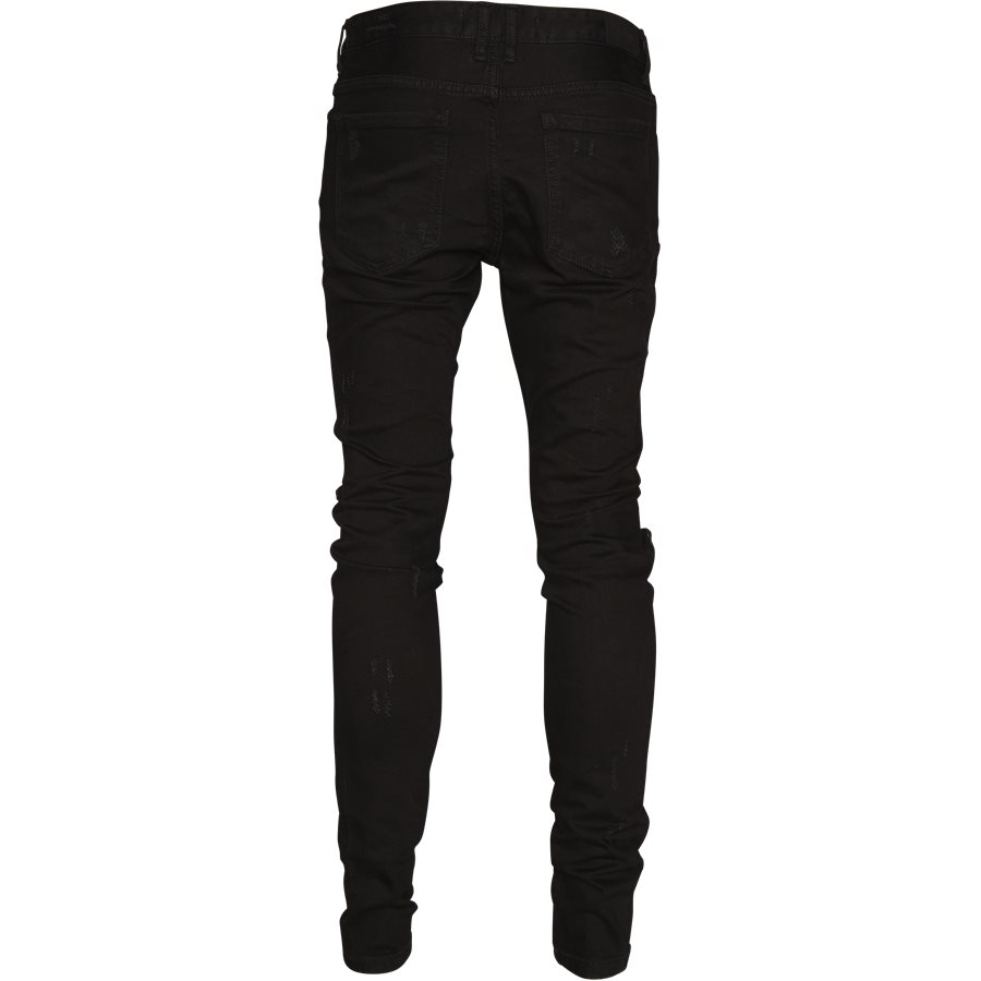 KNEE DESTROYER DENIM - Knee Destroyer Denim - Jeans - Regular - SORT - 2