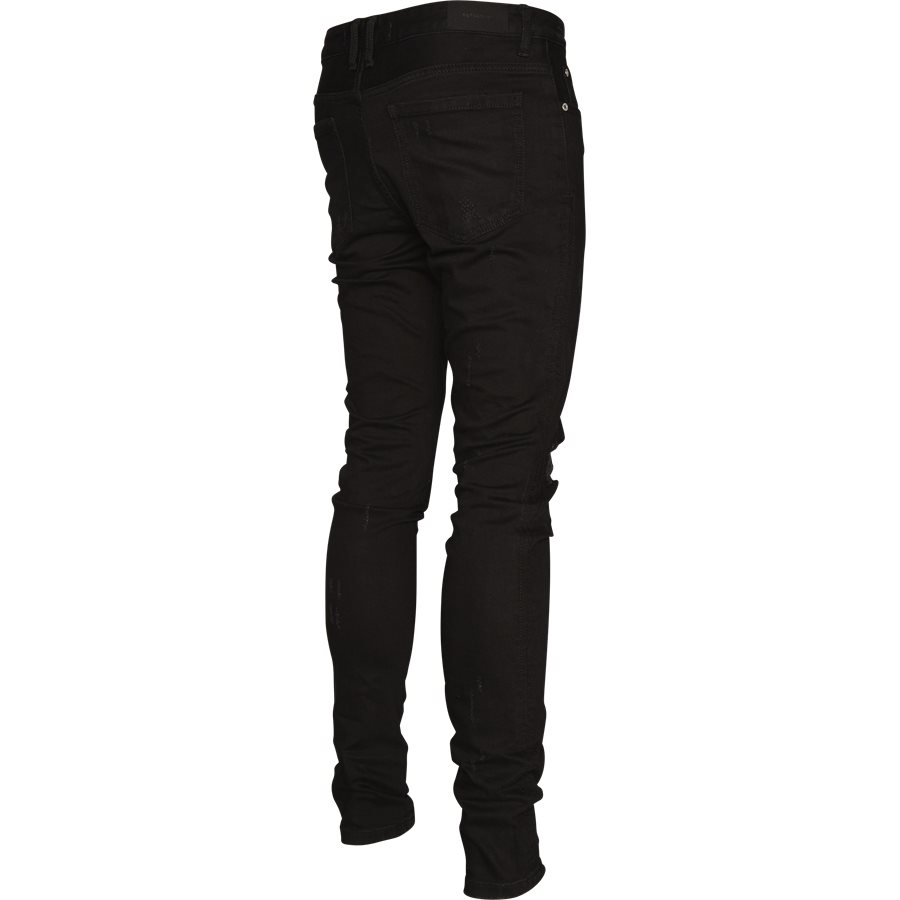 KNEE DESTROYER DENIM - Knee Destroyer Denim - Jeans - Regular - SORT - 3
