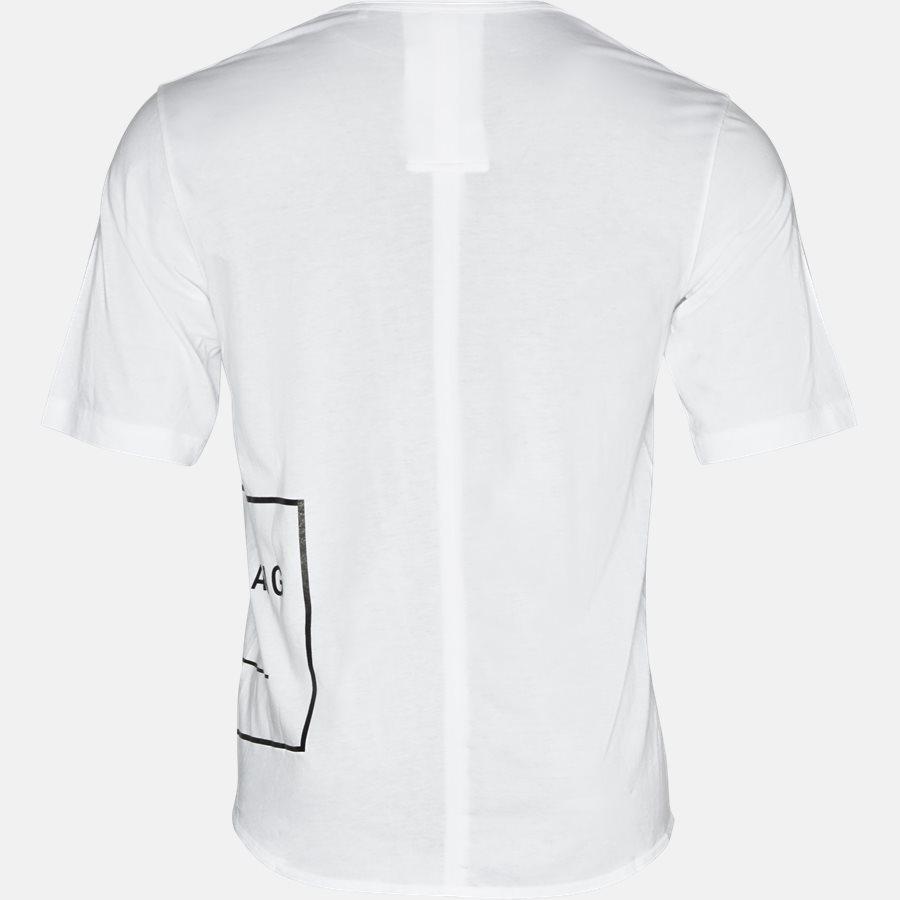 H07HM507 - T-shirt - T-shirts - Oversized - WHITE - 2