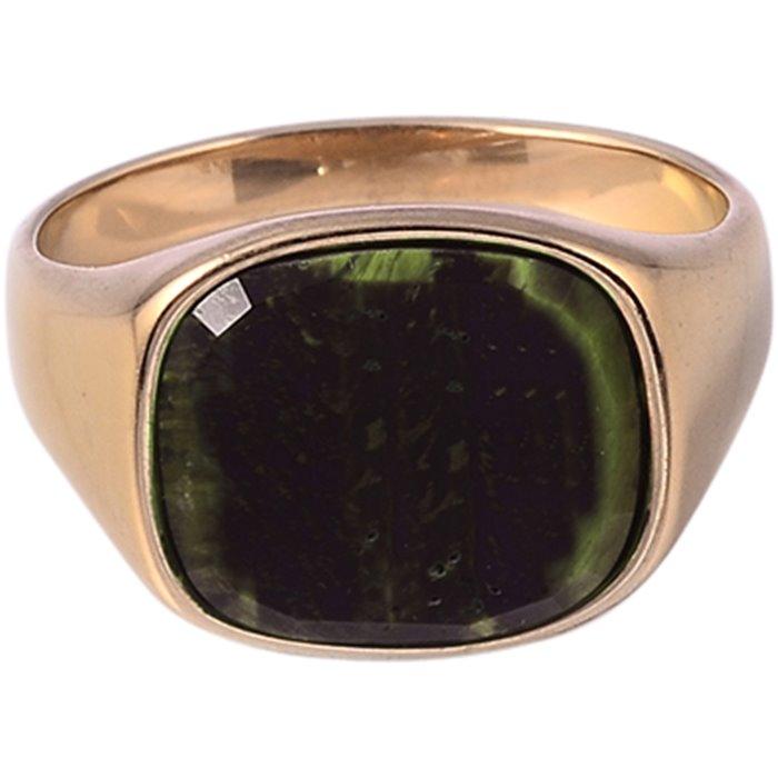 Square Green Stone - Accessories - Gul