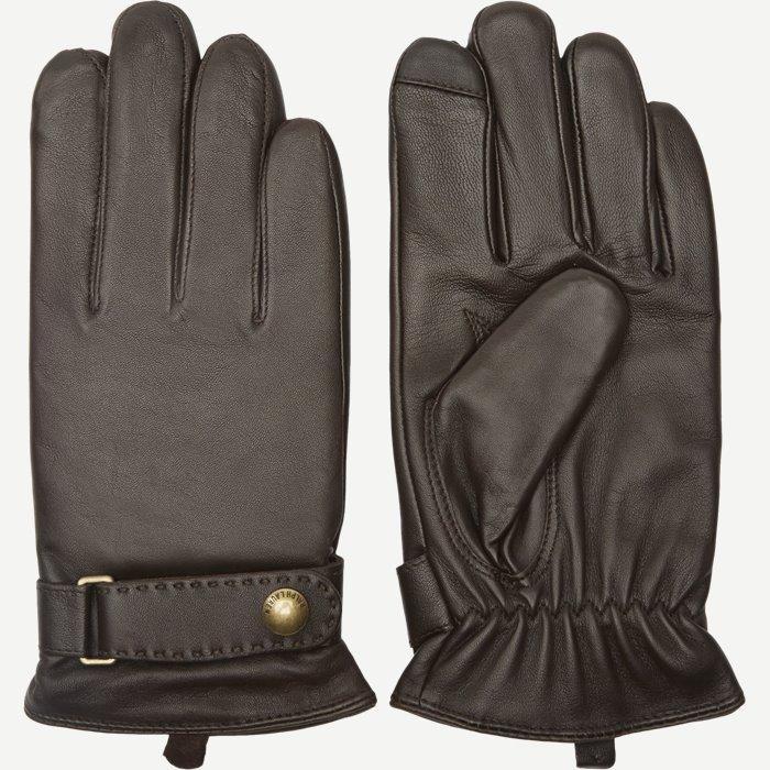 Lammeskinds Handsker - Handsker - Brun
