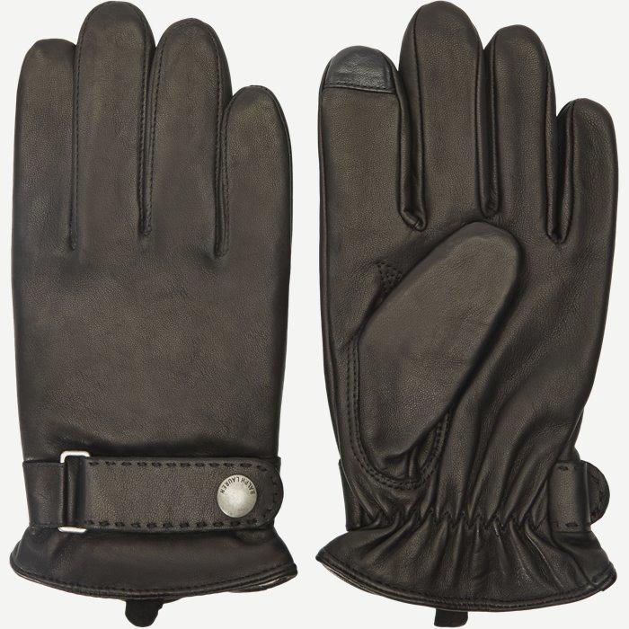 Lammeskinds Handsker - Handsker - Sort