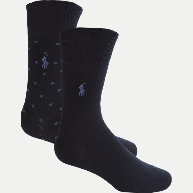 Egyptian Cotton 2-Pack Socks