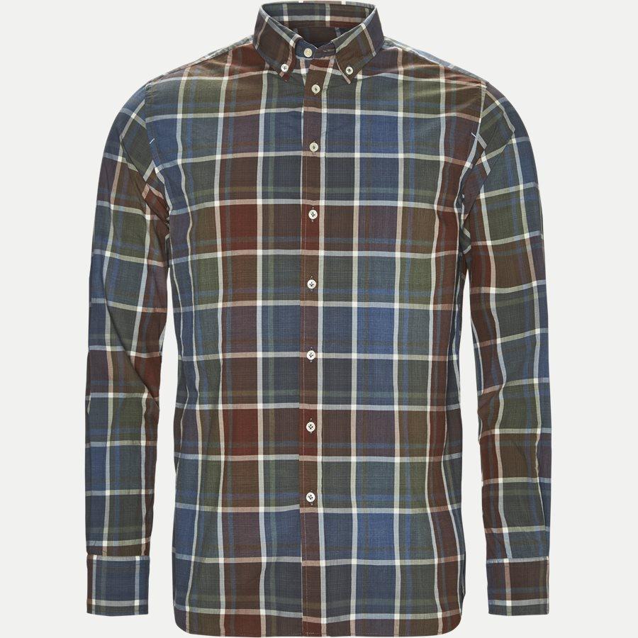 SHIRT, MULECHECK - Mulecheck Shirt - Skjorter - Casual fit - GRØN - 1