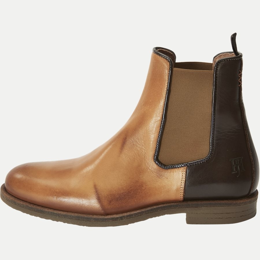 CHELSEA LEATHER BOOT - Chelsea Boot - Sko - BRUN - 1