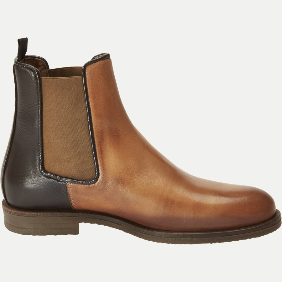 CHELSEA LEATHER BOOT - Chelsea Boot - Sko - BRUN - 2