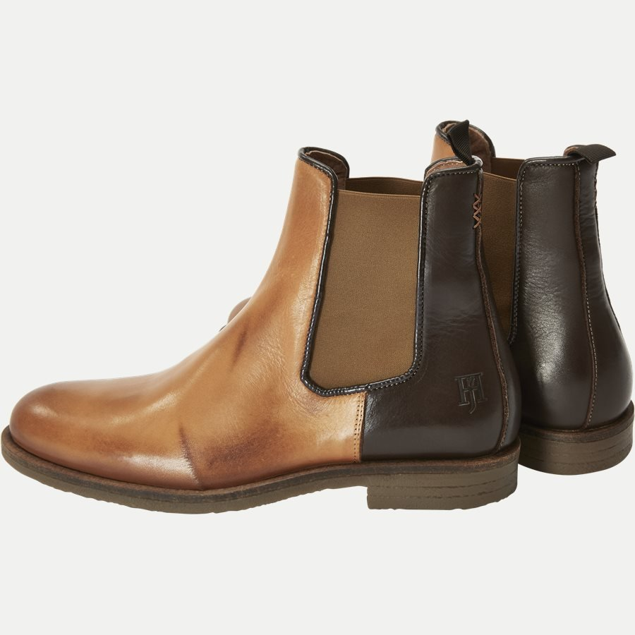 CHELSEA LEATHER BOOT - Chelsea Boot - Sko - BRUN - 3