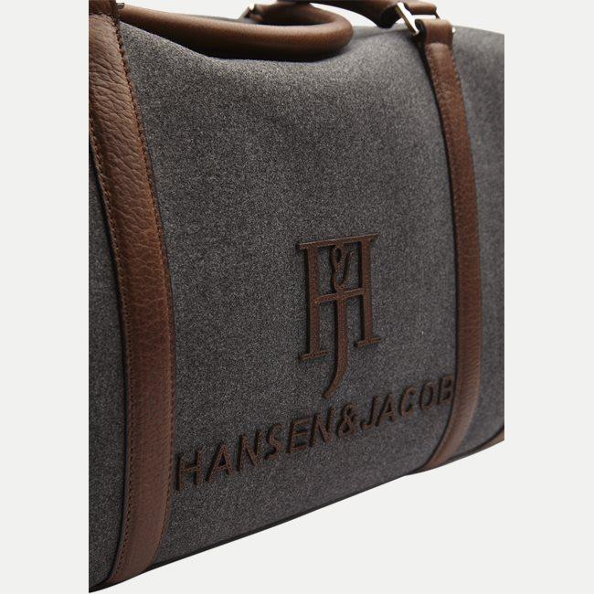 HJ wool/Leather Bag