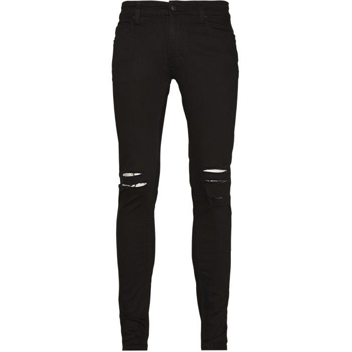Max Black Holes - Jeans - Slim - Sort