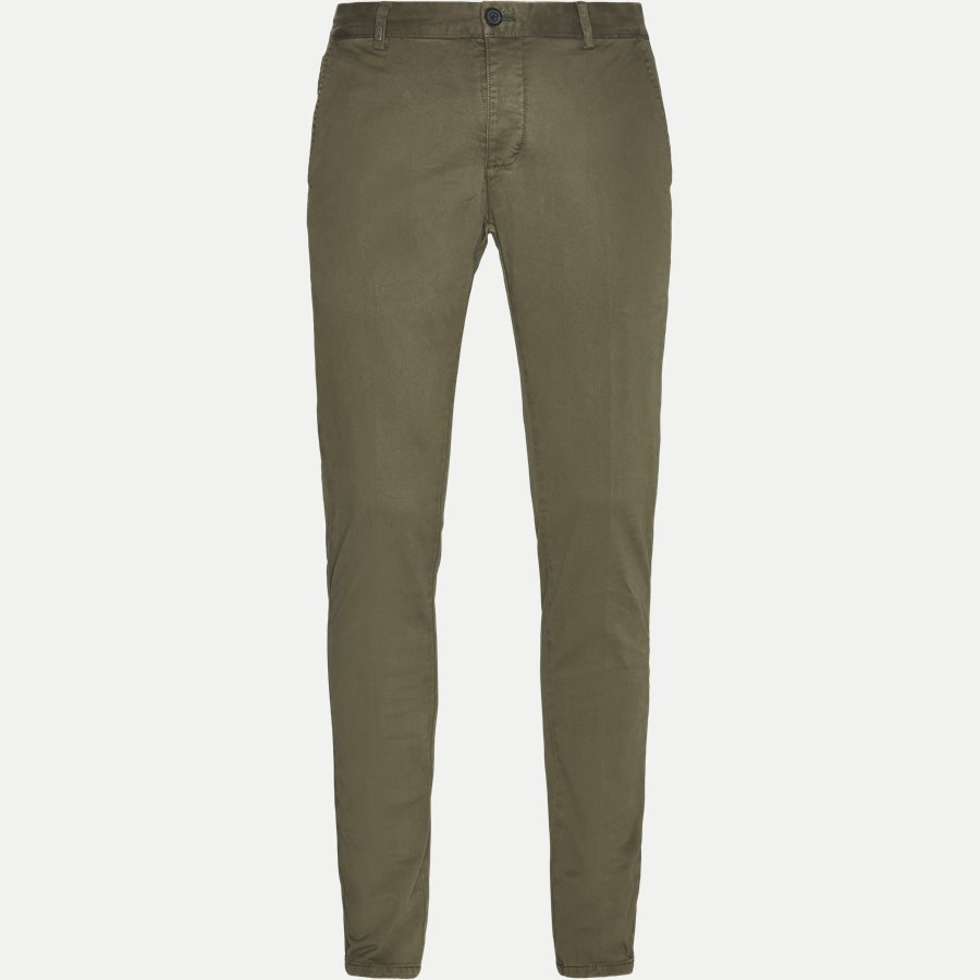 3386 CHINO - Stretch Chinos - Bukser - Slim - ARMY - 1