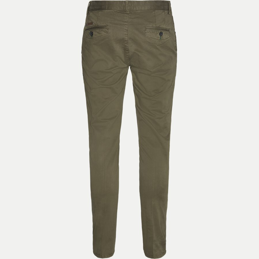 3386 CHINO - Stretch Chinos - Bukser - Slim - ARMY - 2