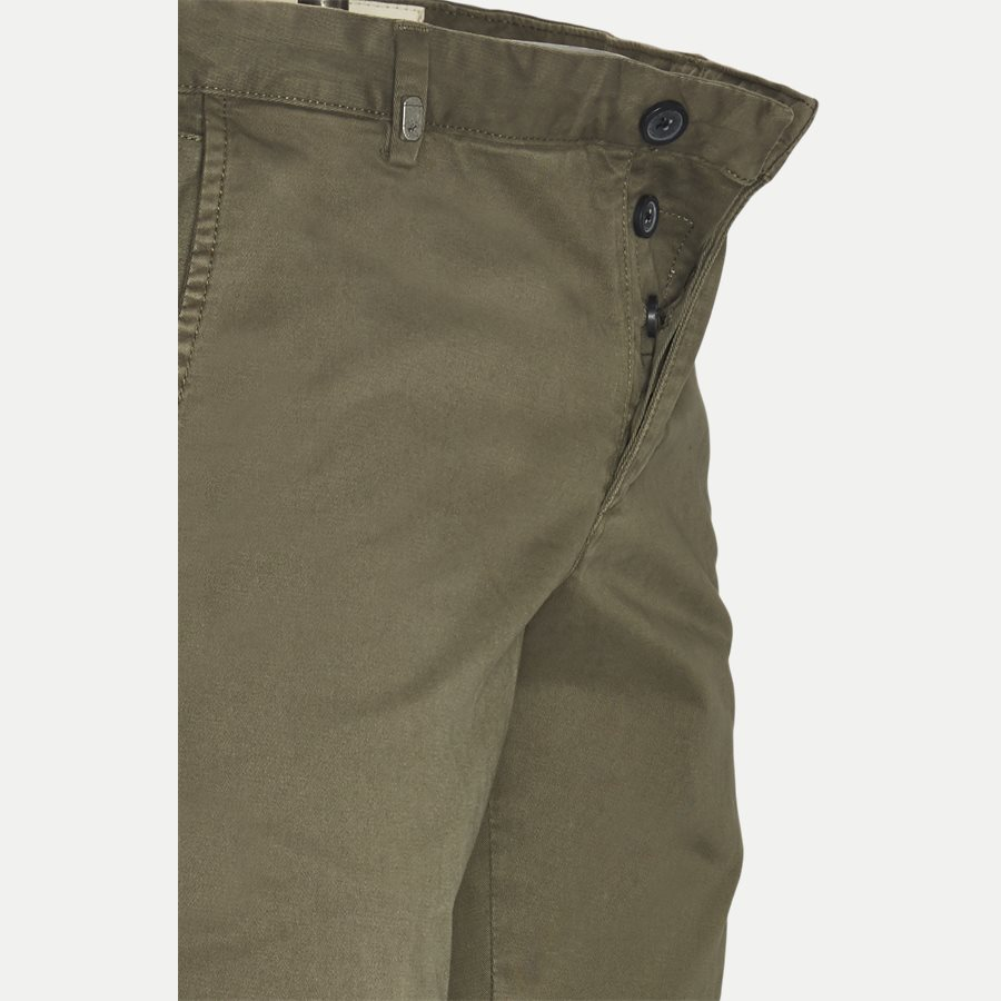 3386 CHINO - Stretch Chinos - Bukser - Slim - ARMY - 4