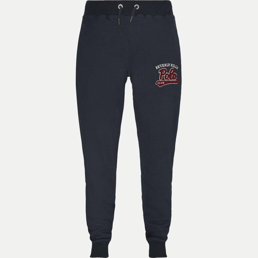 3734 SWEATPANTS - Sweatpants - Bukser - Regular - NAVY - 1