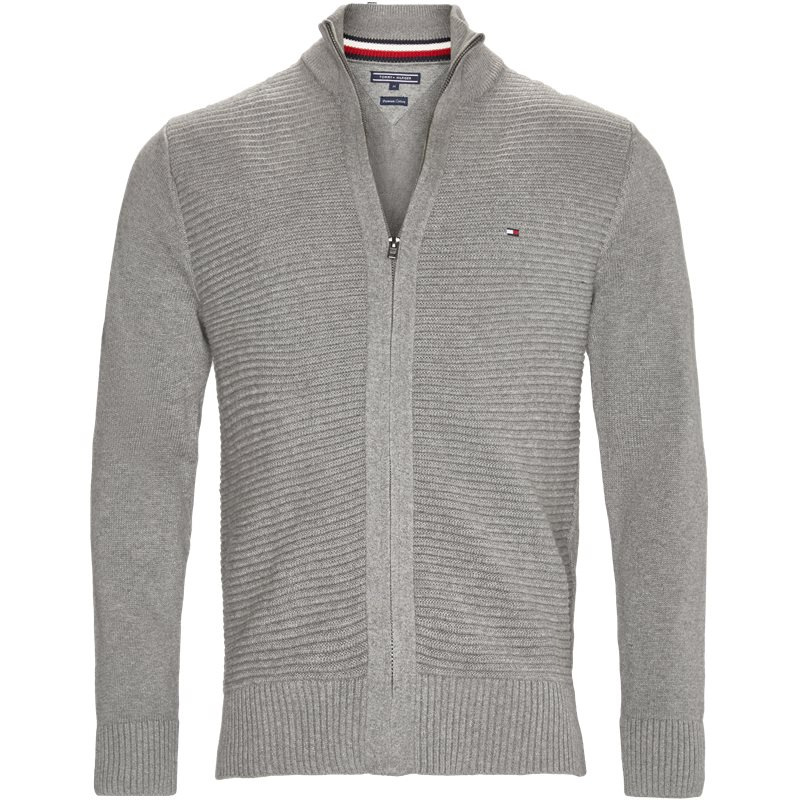 Tommy Hilfiger - Tylor Zip Thru Strik
