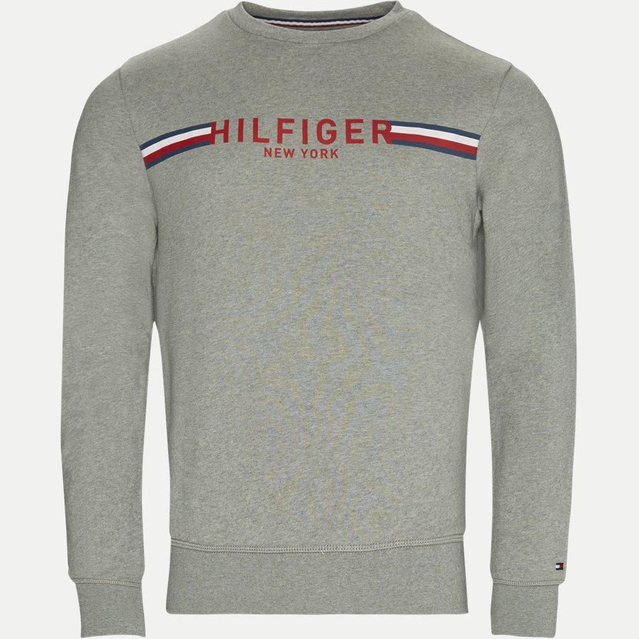 TOMMY C-NK - Crew Neck Sweatshirt - Sweatshirts - Regular - GRÅ - 1