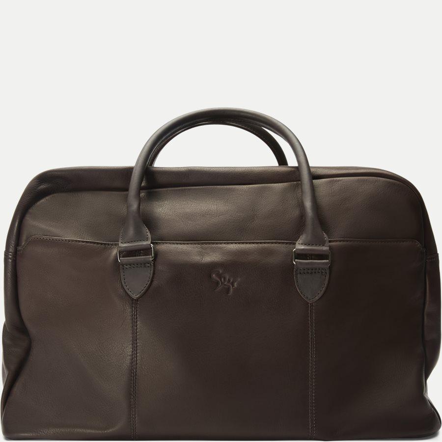 GORM WEEKEND BAG 380016 - Gorm Weekend Bag - Tasker - BRUN - 1