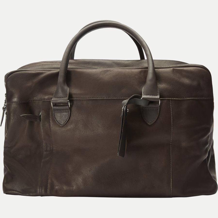 GORM WEEKEND BAG 380016 - Gorm Weekend Bag - Tasker - BRUN - 3
