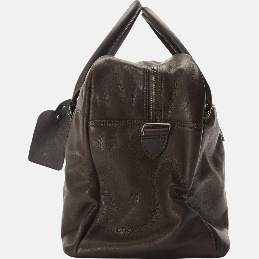 GORM WEEKEND BAG 380016 - Gorm Weekend Bag - Tasker - BRUN - 4