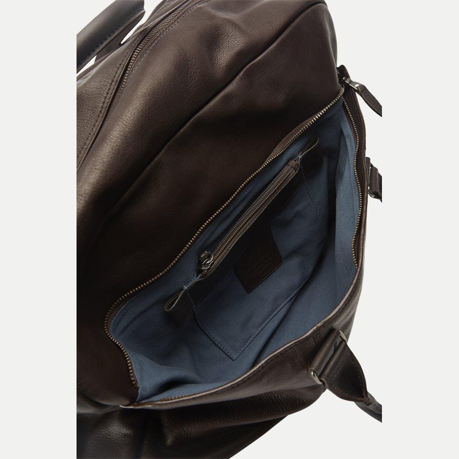 GORM WEEKEND BAG 380016 - Gorm Weekend Bag - Tasker - BRUN - 5