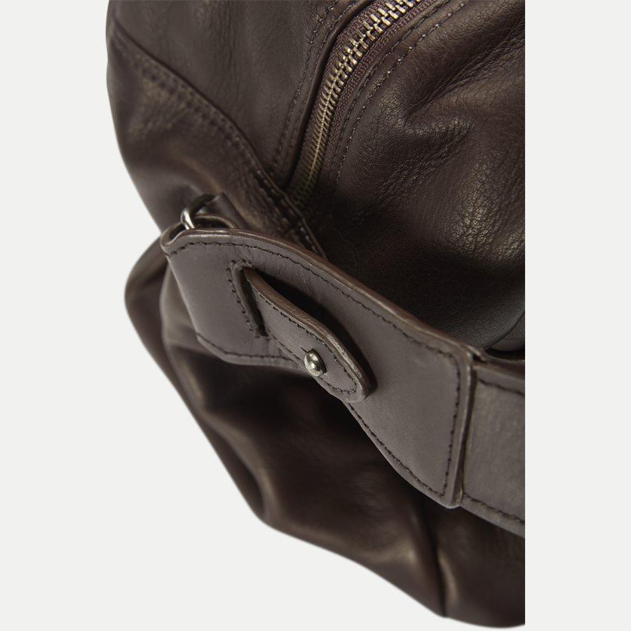 GORM WEEKEND BAG 380016 - Gorm Weekend Bag - Tasker - BRUN - 6