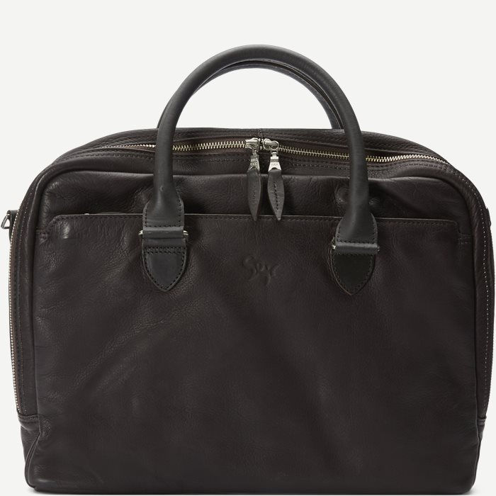 Gorm Notebook Bag - Tasker - Brun