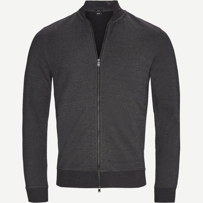 Soule10 Sweatshirt - Sweatshirts - Slim - Sort