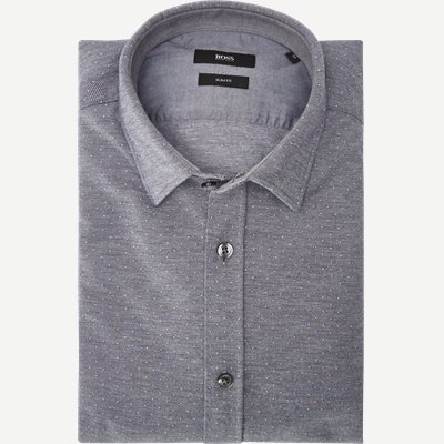 Ronni Skjorte Slim | Ronni Skjorte | Blå