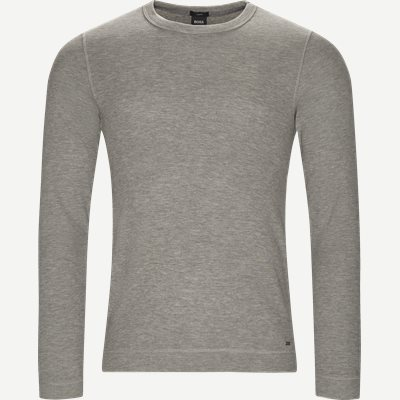 Tempest Long Sleeve T-Shirt Slim | Tempest Long Sleeve T-Shirt | Grå
