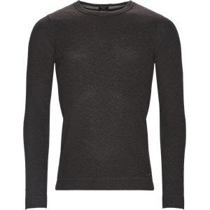 Tempest Long Sleeve T-Shirt Slim | Tempest Long Sleeve T-Shirt | Grå