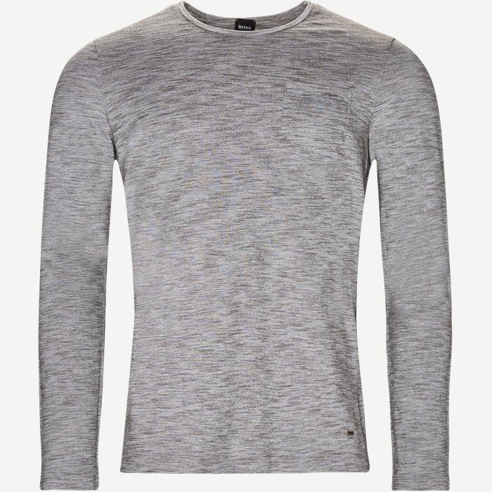 1a916096246c Terra Langærmet T-shirt - T-shirts - Regular - Grå