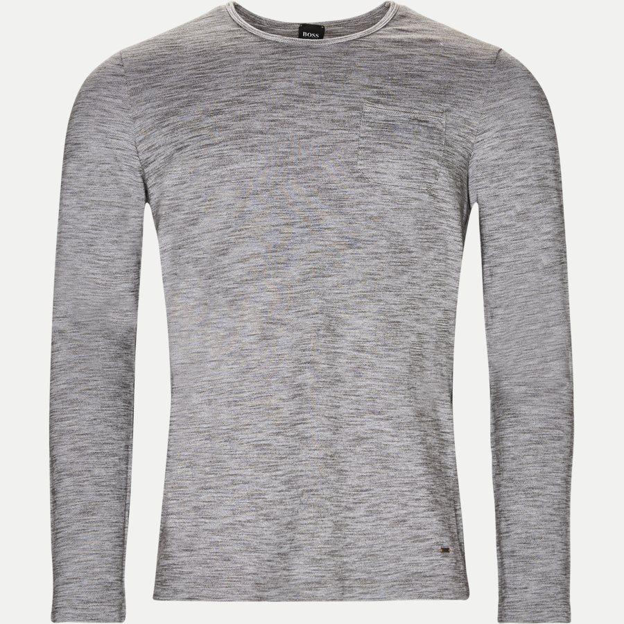 50378401 TERRA - Terra Langærmet T-shirt - T-shirts - Regular - GRÅ - 1