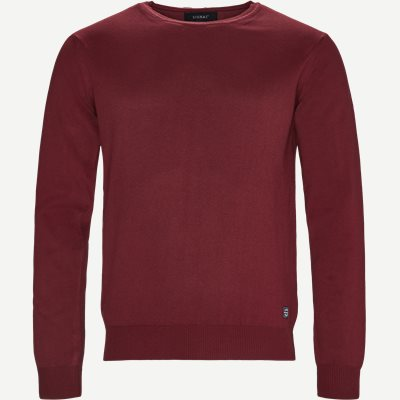 Crew Neck Strik Regular | Crew Neck Strik | Bordeaux