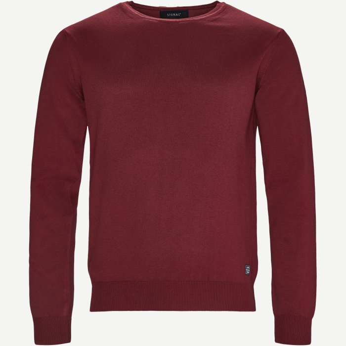 Crew Neck Strik - Strik - Regular - Bordeaux