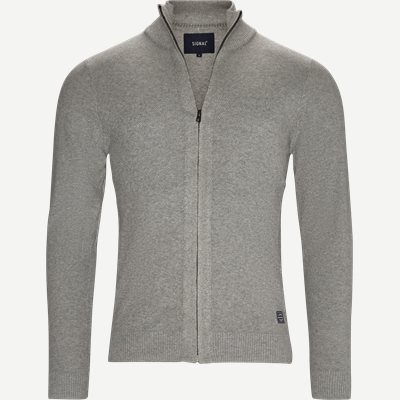 Kato Full Zip Cardigan Regular | Kato Full Zip Cardigan | Sand