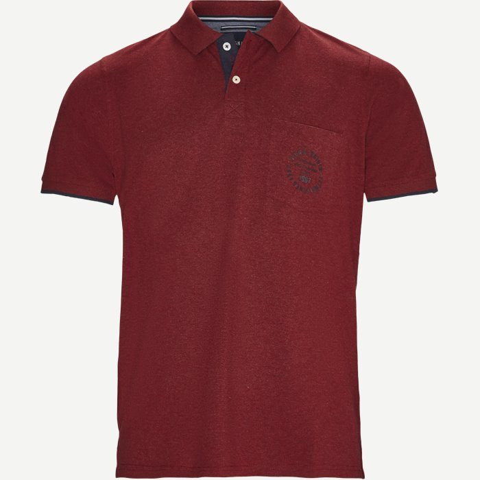 Polo - T-shirts - Regular - Rød