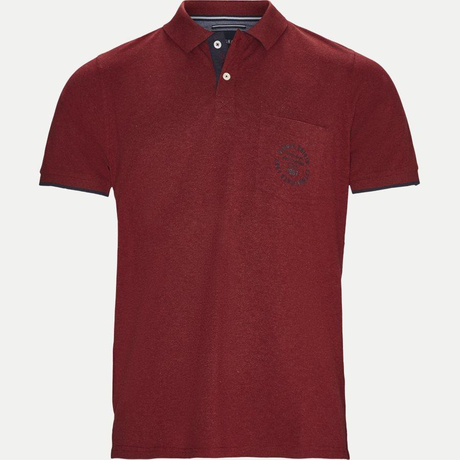 13239 67 - Polo - T-shirts - Regular - RØD - 1