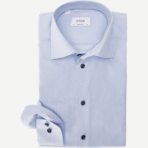Poplin Skjorte Poplin Skjorte | Blå