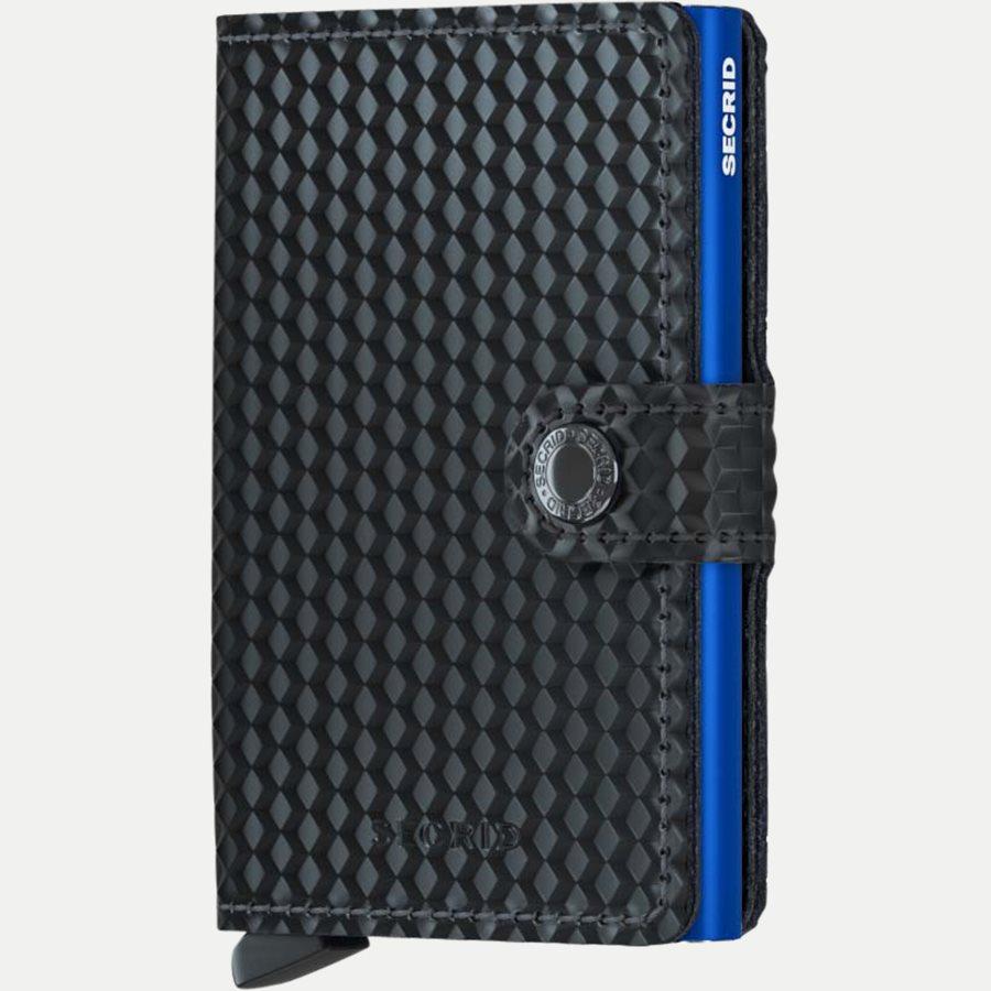 MCU CUBIC DIV. - Mcu Cubic Mini Wallet - Accessories - BLK/BLUE - 1