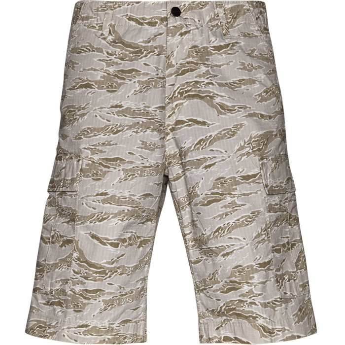 Regular Cargo Camo Tiger - Shorts - Regular - Sand
