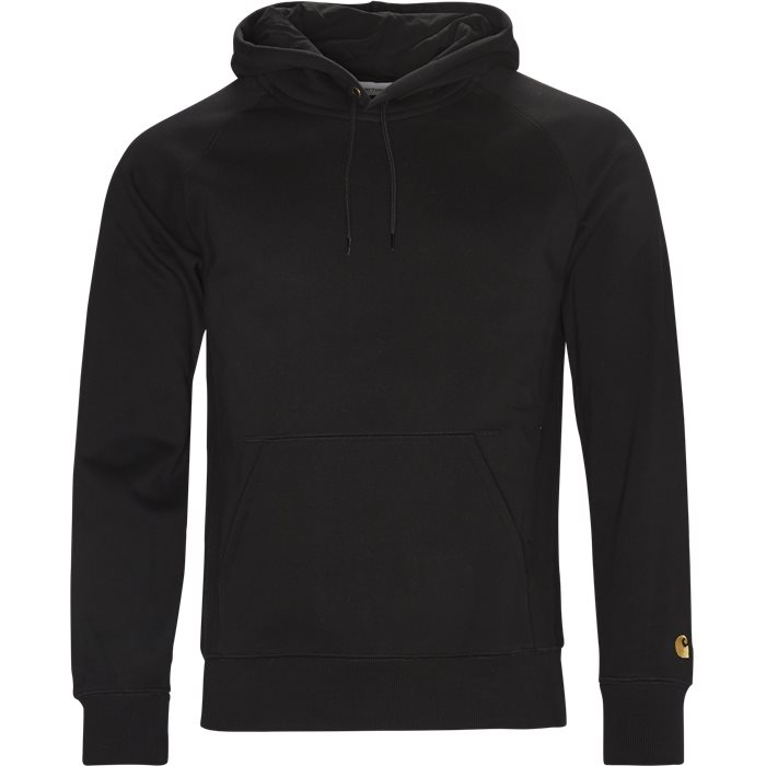 Hooded Chase Sweatshirt - Sweatshirts - Regular - Sort