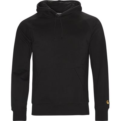 Hooded Chase Sweatshirt Regular | Hooded Chase Sweatshirt | Sort
