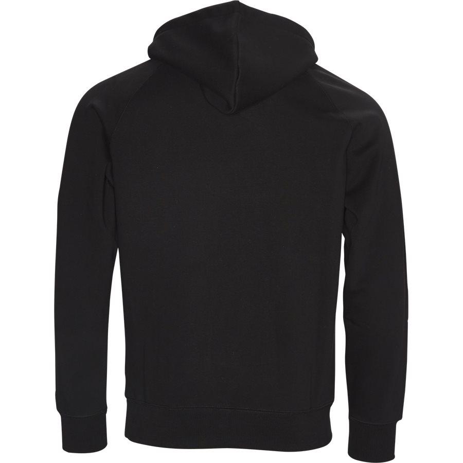 HOODED CHASE I024653 - Hooded Chase Sweatshirt - Sweatshirts - Regular - BLACK/GOLD - 2
