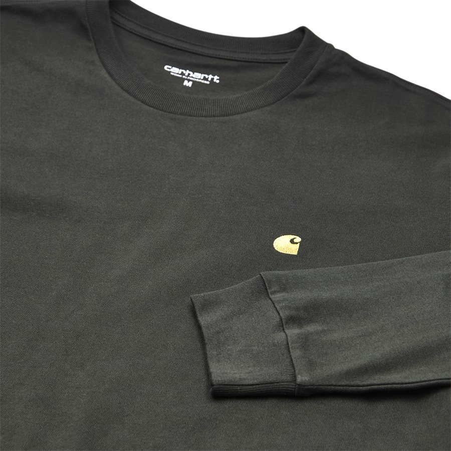 L/S CHASE I026392. - L/S Chase - T-shirts - Regular - LODEN/GOLD - 3