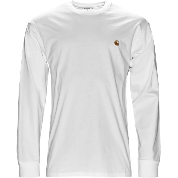 L/S Chase - T-shirts - Regular - Hvid