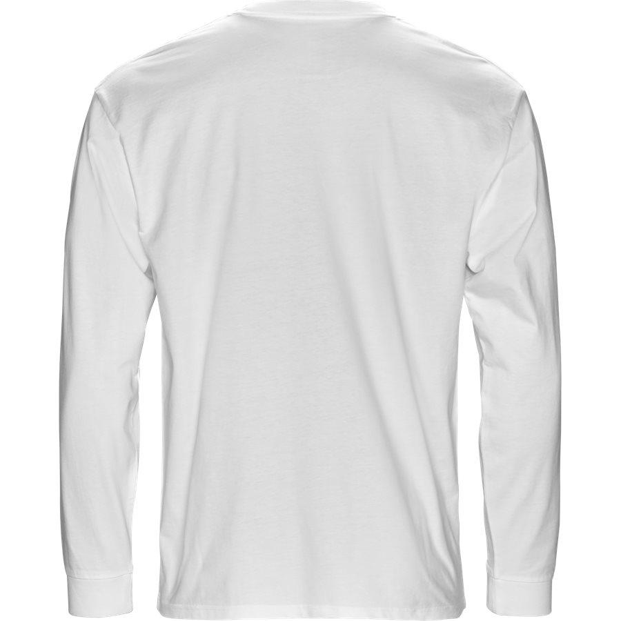 L/S CHASE I026392 - L/S Chase - T-shirts - Regular - WHITE/GOLD - 2